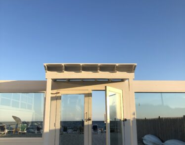 Sunset glass doors 3 zoomed